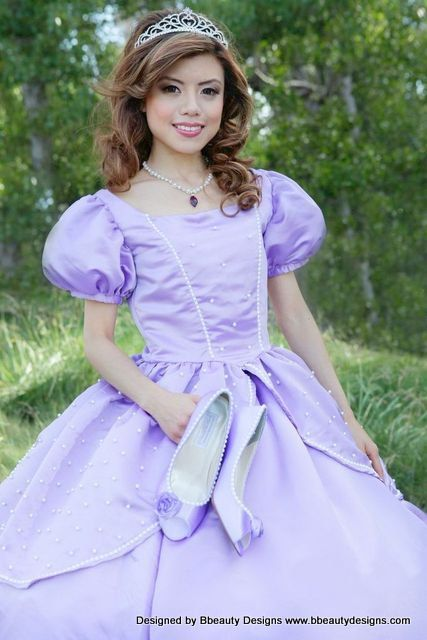 dress sofia the first