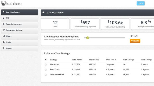 Student Loan Hero Organizes Your Massive Student Loan Debt and Helps You Pay It Off. Pin now, read later. This seems useful.