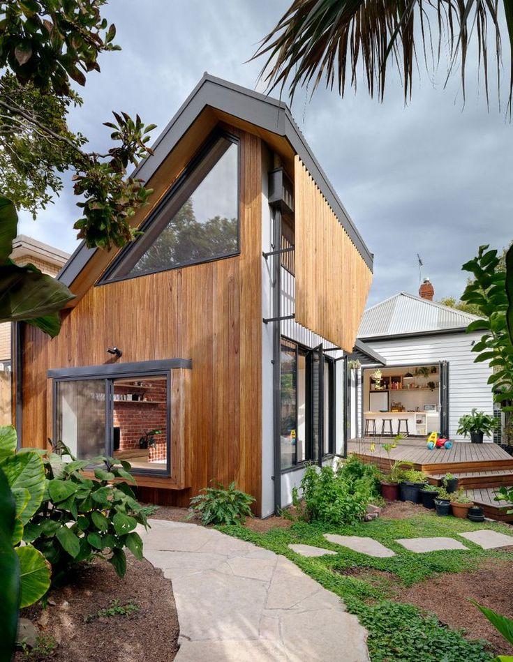 Красивые дома на очень узких участках фото