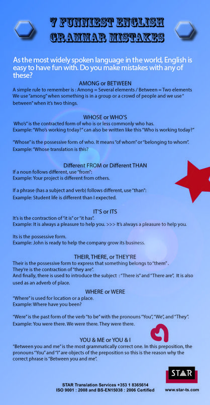 #English - 7 Funniest English Grammar Mistakes