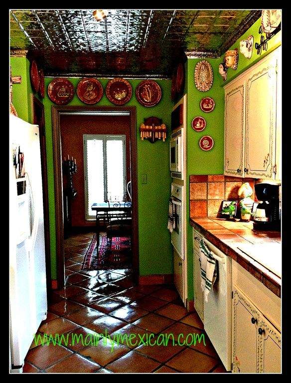 185 best images about mexican cocina on pinterest for Mexican style kitchen pictures