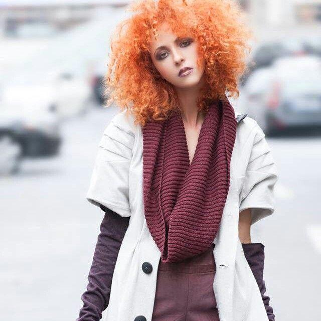 MUA: Diana Enaiche Hair: Ioana Iulia Goicea Photo: Virgil Hritcu Styling: Vanda Petrescu Clothing: ZazieV.
