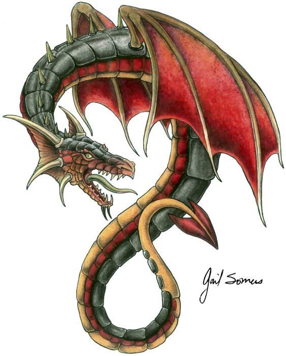 Top Dragon Tattoo Darkside Tattoos In Lists For Pinterest