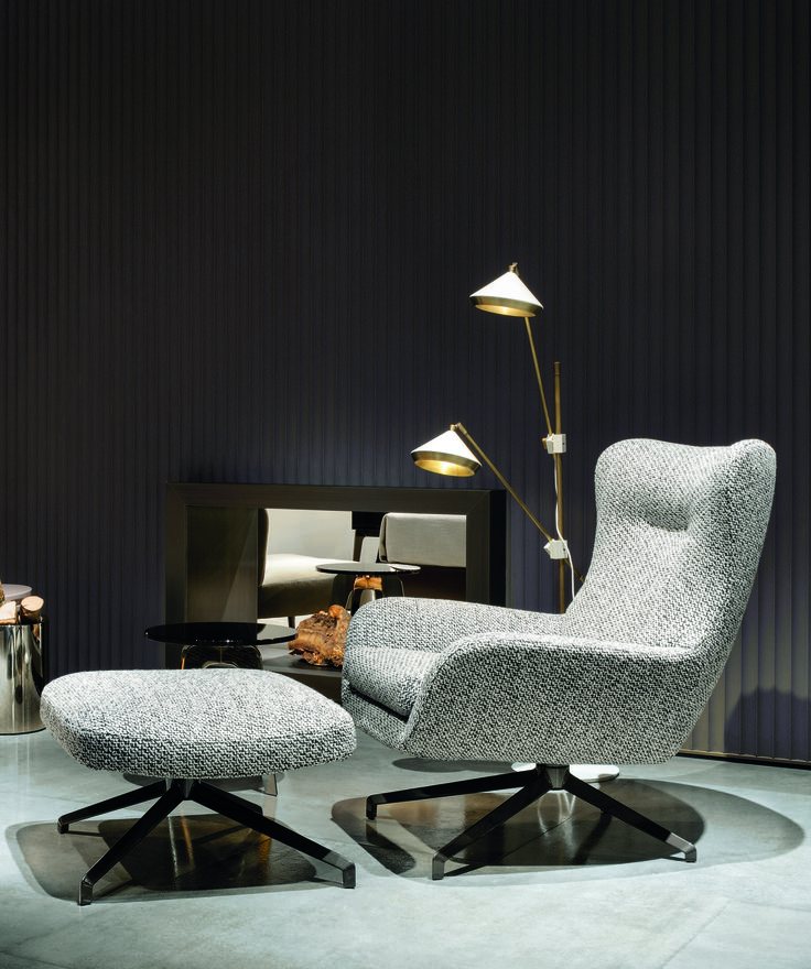 Stylish and comfortable seating arrangements to enhance a living space. Minimal interiors that we need.