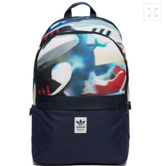 Adidas Adidas sneaker print backpack brand new with tag Adidas Bags