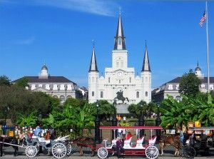 There are many places to visit in New Orleans but Jackson Square is a must see when visiting New Orleans.