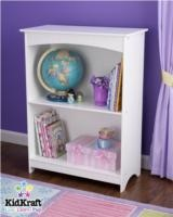 How cute is this little bookshelf! Perfect height for little ones!