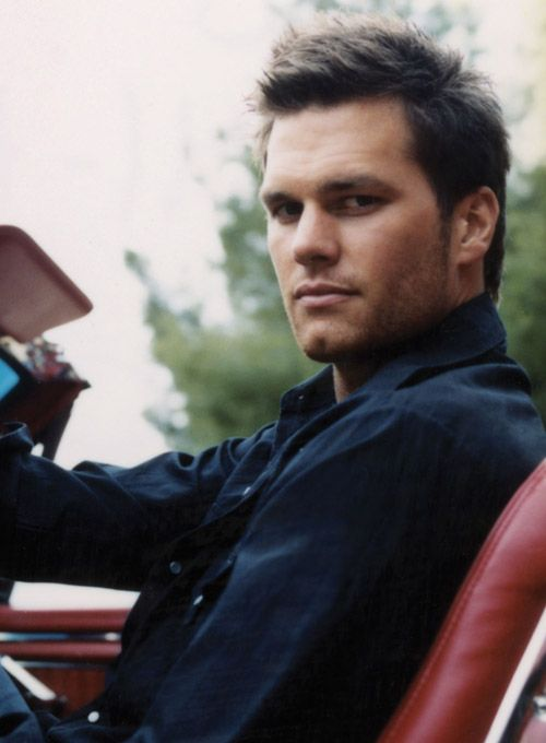 Tom motha-f*ckin' Brady. My heart goes on because of his chin dimple.