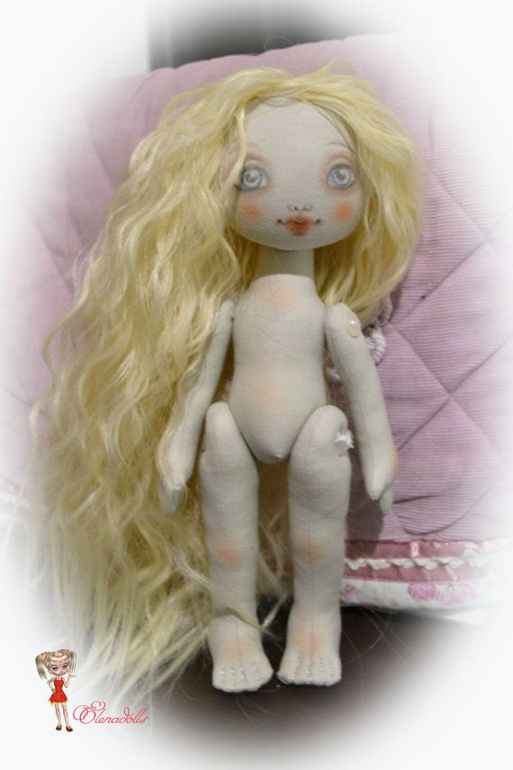 Pattern doll Angelica. growth of 10 inches. doll by ElenaDolls