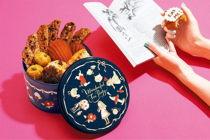 ワンダーランド缶   お菓子のミカタ