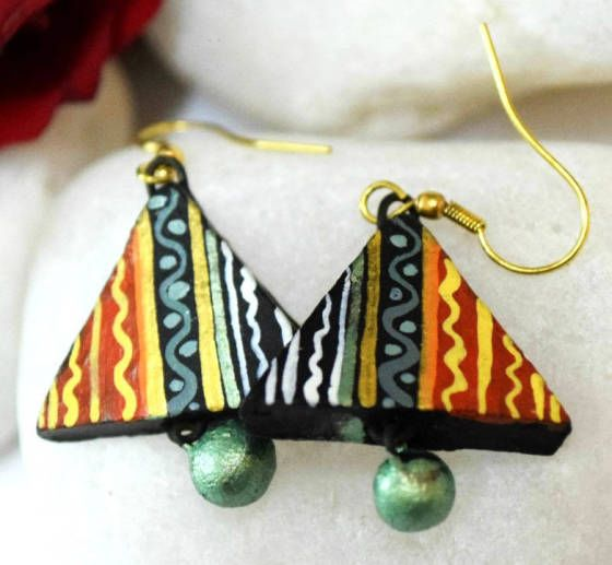 Shopo.in : Buy Terracotta Multicolor Earring online at best price in New Delhi, India