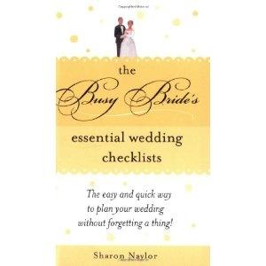 The Busy Bride's Essential Wedding Checklists (Paperback)  http://balanceddiet.me.uk/lushstuff.php?p=140220504X  140220504X