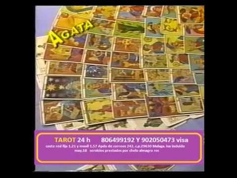AGATA VIDENTE DE TELEVISION Y FAMOSOS 806499192 ,PROGRAMAS ANTERIORES...TAROT 24H - YouTube