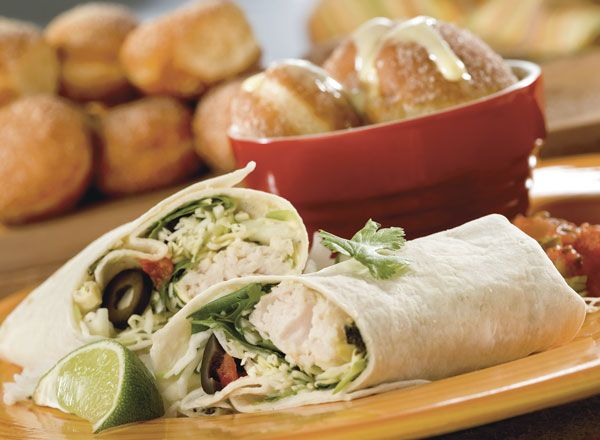 Grilled Fish Tacos and Rice With Lemon Cinnamon Bites Recipe from #PublixAprons