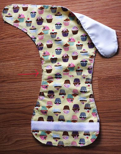 Finally! A free cloth diaper pattern with gussets.