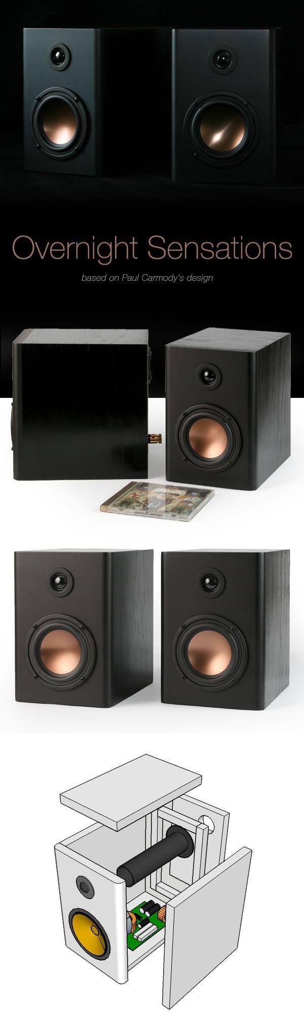 Overnight sensations my first diy speaker build great sounding bookshelf speakers enclosure 16mm mdf