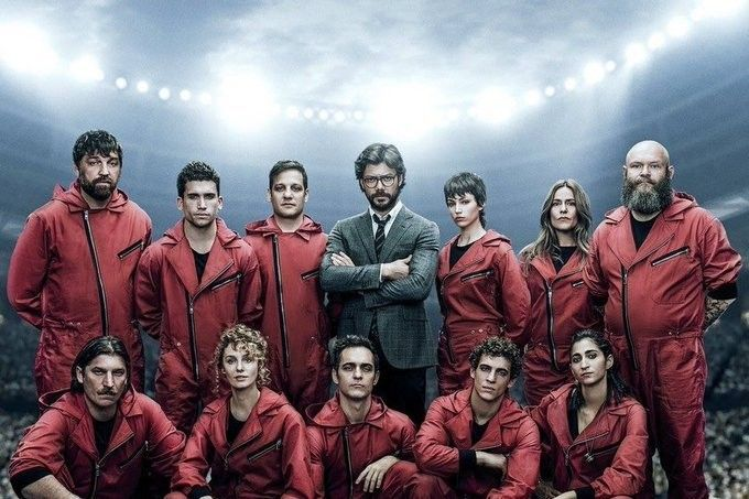Pin By Relax On La Casa De Papel Netflix Series Netflix