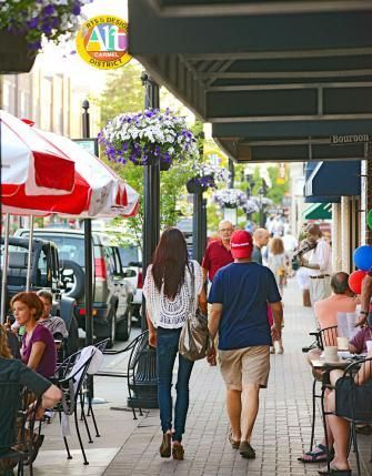 Carmel, Indiana's downtown presents a haven for decorators, artists, chefs and musicians—making it a great place for the rest of us to spend the day.