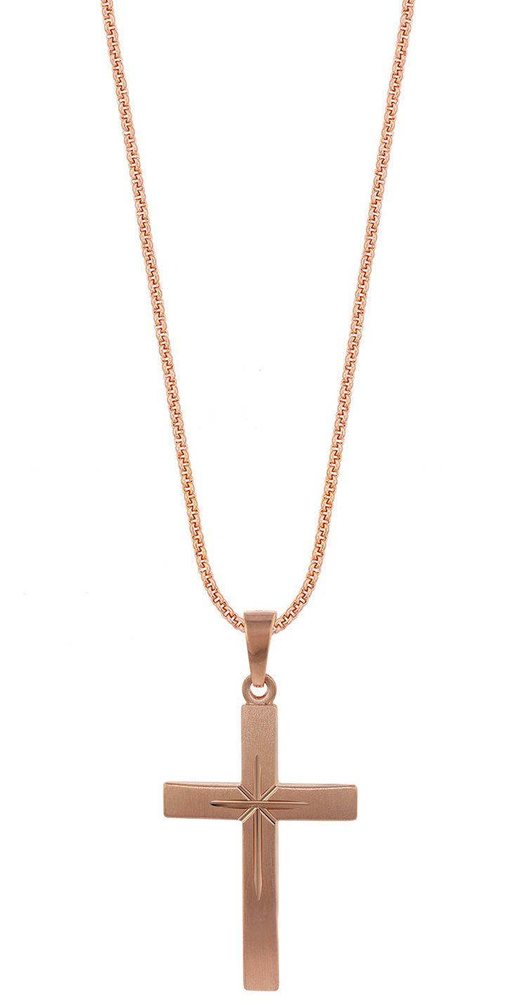 TRENDOR 79503 Silber Herrenkette mit Kreuz-Anhänger jetzt günstig im uhrcenter Schmuck Shop bestellen. ✓Geprüfter Online-Shop ✓Schneller Versand.
