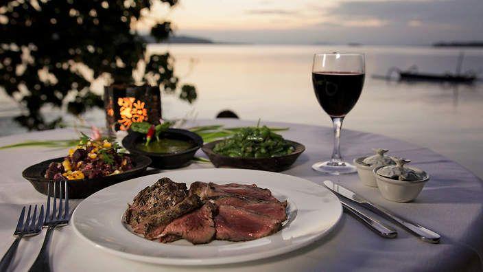 Vanuatu - Pacific Islander Barbecued island beef with organic salsa verde