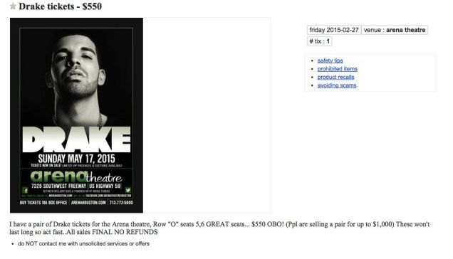 A Bogus Concert Promoter Reportedly Scheduled an Entire Fake Drake Tour