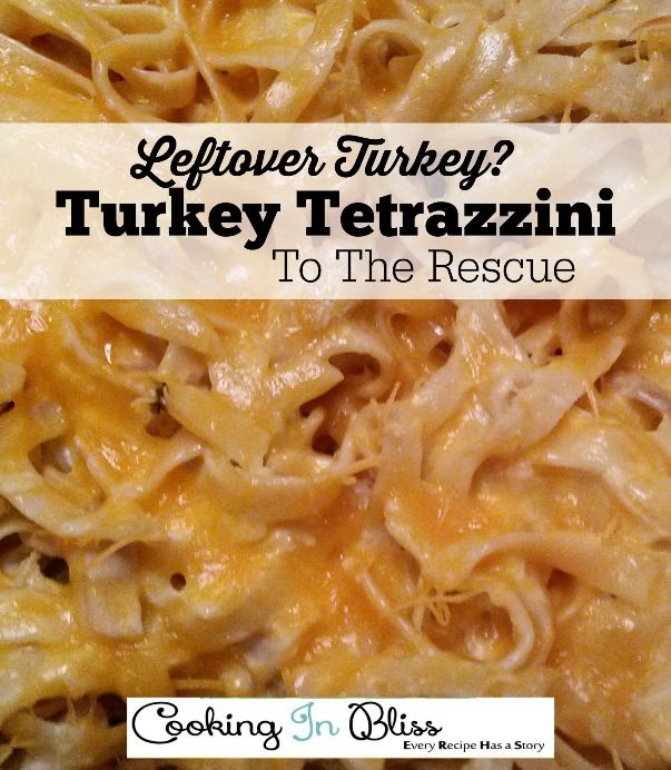 Got some turkey leftovers? Hurry and check out this delicious Turkey Tetrazzini Recipe.