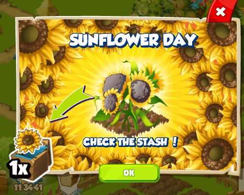 Sunflower Day http://wp.me/p2Wzyb-5N #happytale