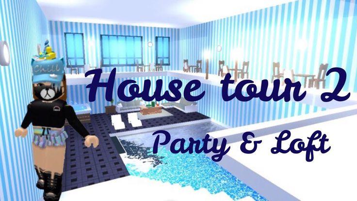 Futuristic House Tour 2 Loft Party Roblox Adopt Me Its