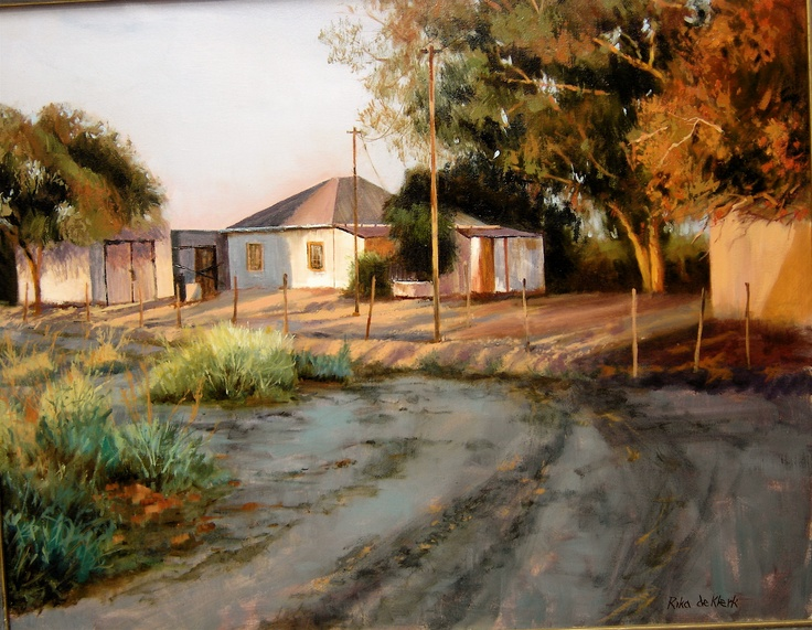 Rika De Klerk. Uppington Sunset