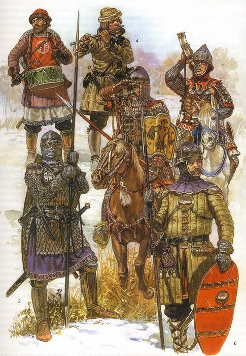 New Varangian Guard - Constantinople (personal bodyguards of the Byzantine Emperor)