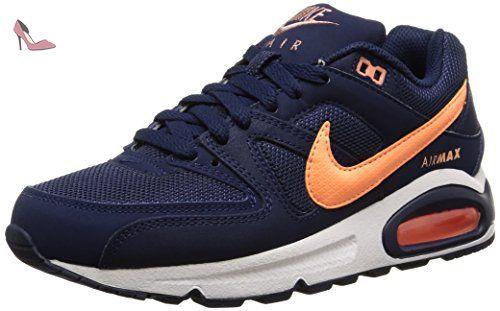 Nike  Air Max Command, Sneakers Basses femme - bleu - Blau (Midnight Navy/Sunset Glow 488), 38 EU - Chaussures nike (*Partner-Link)