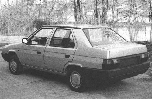 Škoda 782 Favorit Sedan - Skoda