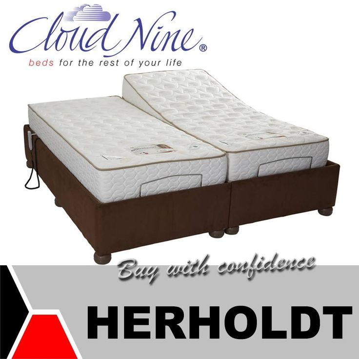 The Herholdt Group brings you the new Cloud Nine Slomotion bed. Each side has individual controls and a strong motion bed structure, along with many more features this bed guarantees you a good night's rest. #homeimprovement #cloudnine