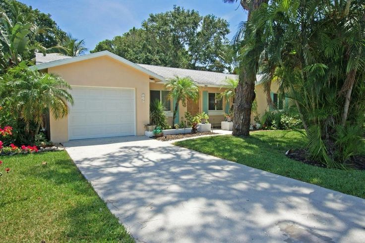 Remodeled, 2BD/2BA/1CG, CBS home on a lovely, quiet block in the heart of Tequesta! Upgrades include hurricane impact windows, new (2017) high end A/C, new safety green duct work, wood floors throughout the living area & bedrooms, granite countertops and wood cabinetry in the kitchen & bathrooms, and new kitchen appliances. The house features crown molding throughout and knock-down ceilings. Enjoy the covered, screened-in patio overlooking the private back yard with lush, tropical…