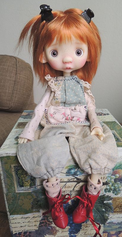 My freckled Anako is pure Love | THE RESIN CAFE