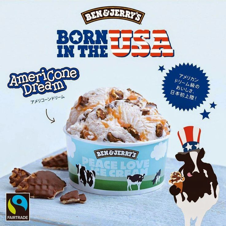 Food Science Japan: Ben & Jerry's Americone Dream