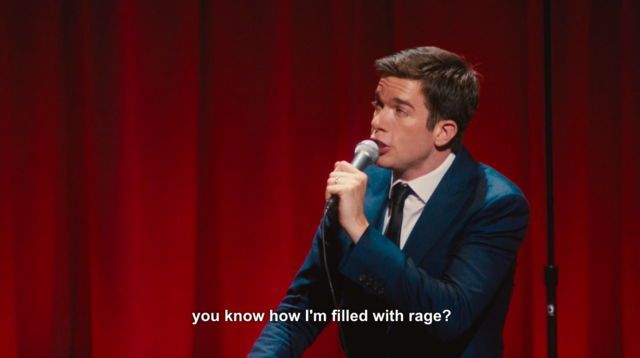 Image result for john mulaney filled with rage