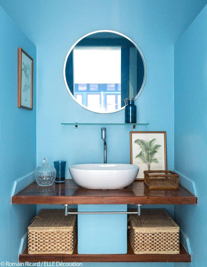 17 meilleures id es propos de salles de bains bleues sur - Synonyme de salle de bain ...