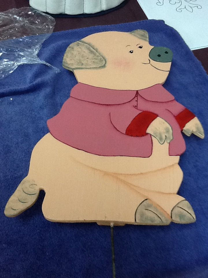 Tole painting.....female pig