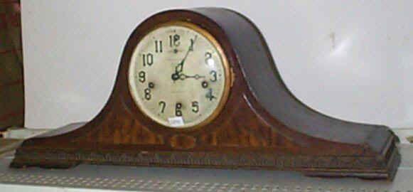 antique tambour mantel clocks - mackey's antique clock repair ...