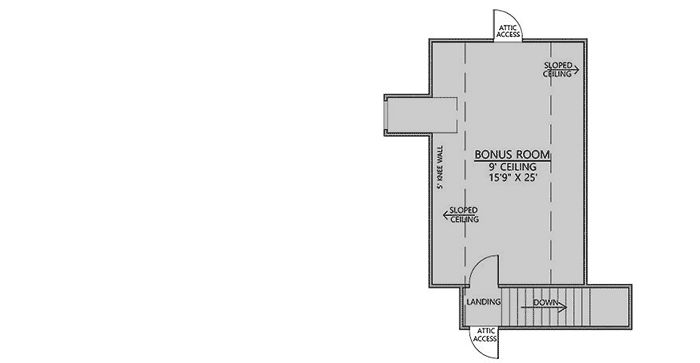 166 best house plans images on pinterest a house for Acadian house plans with bonus room