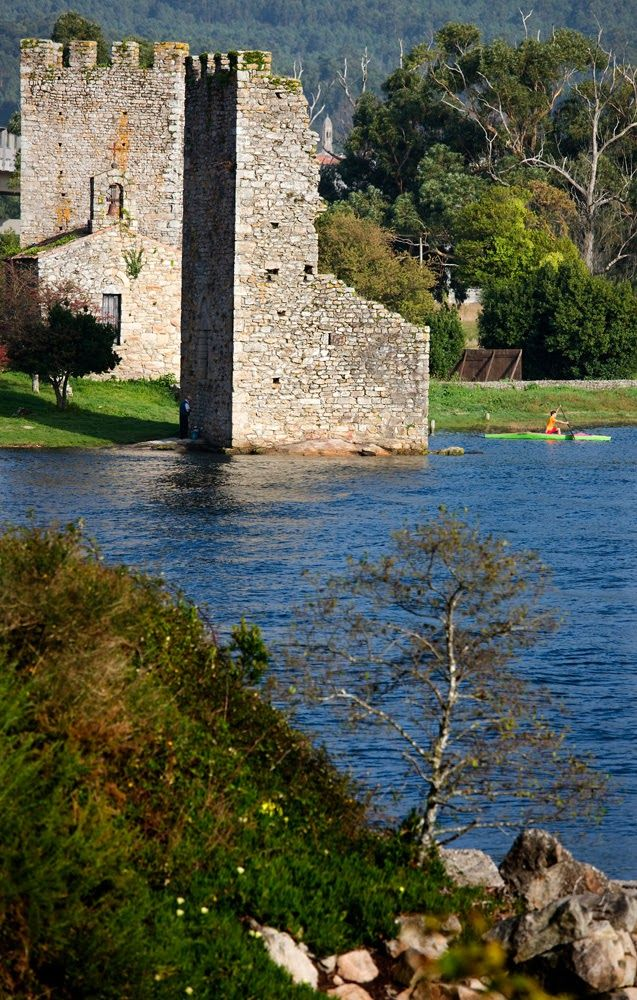 Torres de Catoira. (Pontevedra). Galicia. Spain.