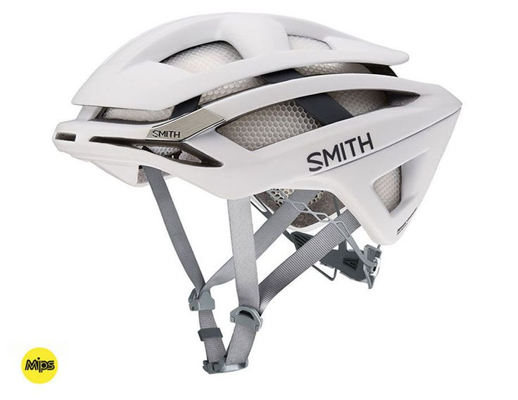 Smith - Overtake Matte White Frost - MIPS Bike Helmet