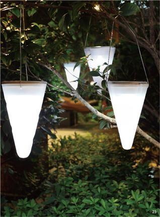 RELED Solar Hangende Buitenlamp Cornet