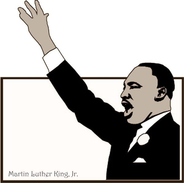 clip art martin luther king jr day - photo #11