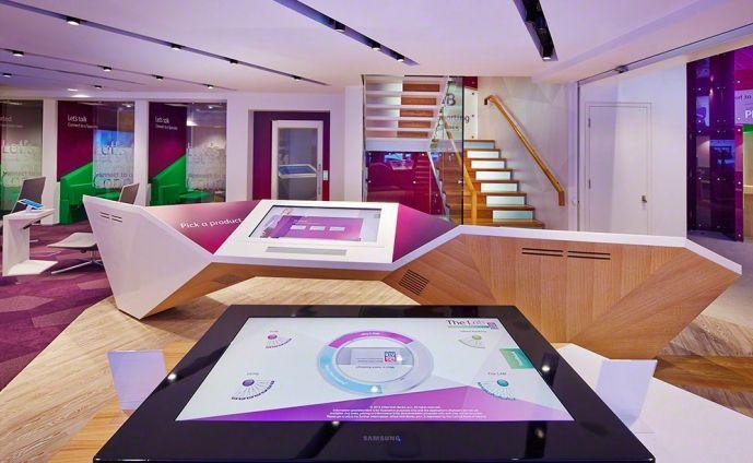 retail bank design aib lab branch 5