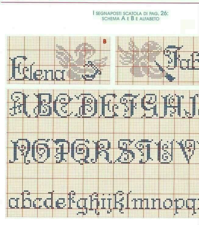 Alfabeto Alfabeto Ponto Cruz Monogramas Em Ponto Cruz Ponto Cruz