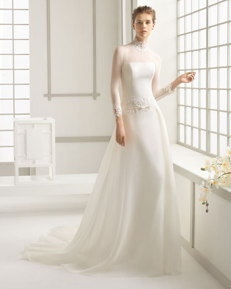 2016 DARSENA ROSA CLARA  (Rosa Clará) 💟$267.99 from http://www.www.toutrobes.fr   #wedding #clará) #darsena #clara #rosa #(rosa #bridal #bridalgown #weddingdress #mywedding
