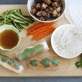 Honey & Soy Chicken Rice Paper Rolls  - Coles Recipes & Cooking