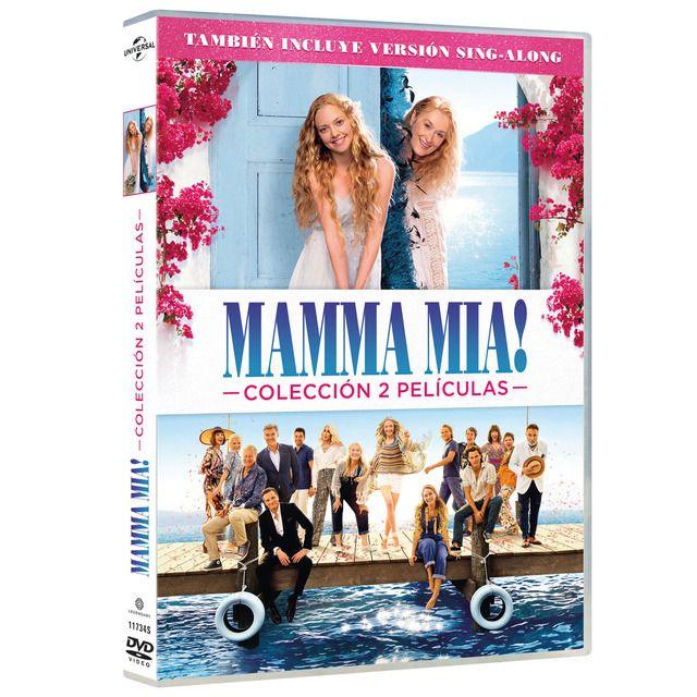 Pack Mamma Mia Películas 1 2 Dvd Mamma Mia Dvd Peliculas